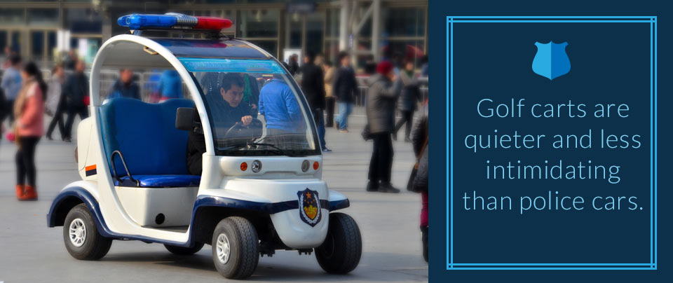 Rise of Golf Cart Policing